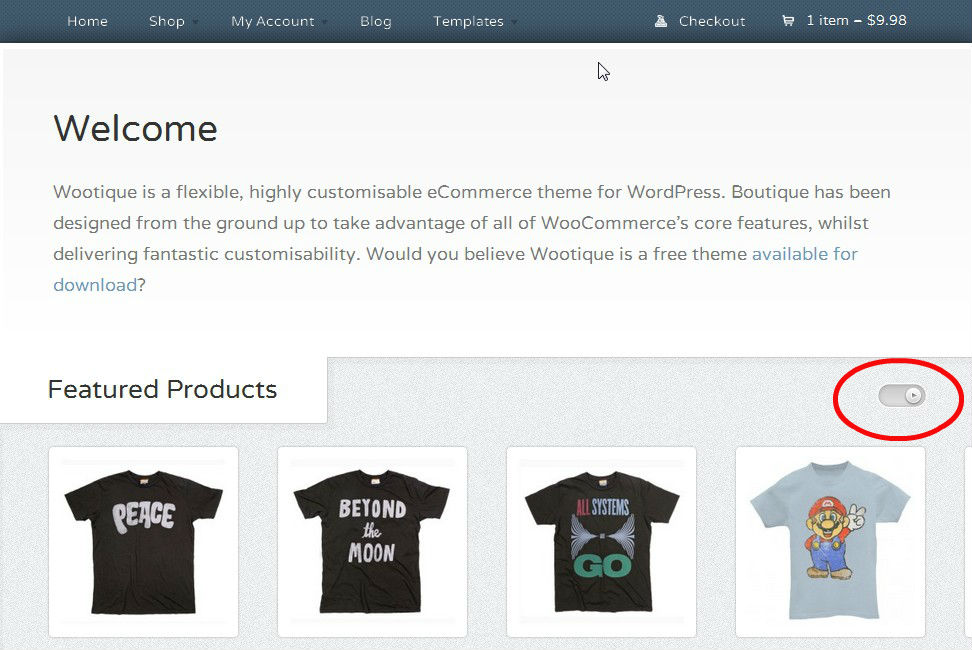 Free WordPress Theme for eCommerce